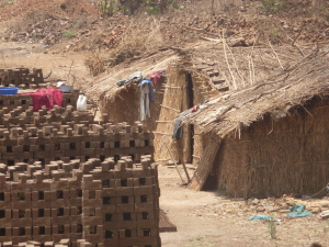 Brickworkers' homes, Thane