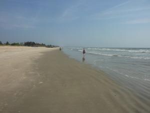 Me on Benaulim beach 2